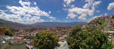 View over Medellin, Colombia