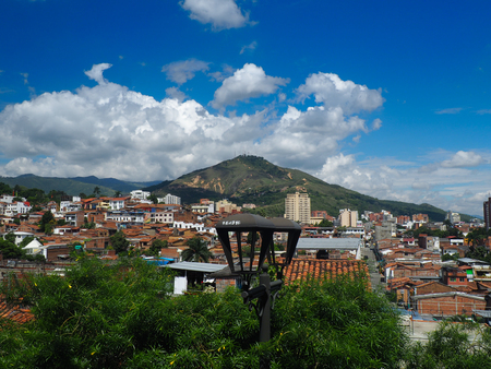 View over Cali, Colombia Stock Photo