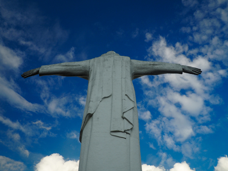 Christo Rey statue in Cali Colombia