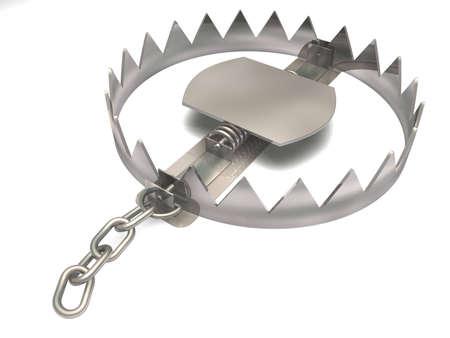 machine teeth: Trap