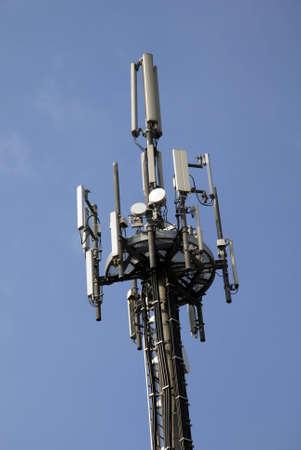 Communication Tower Standard-Bild