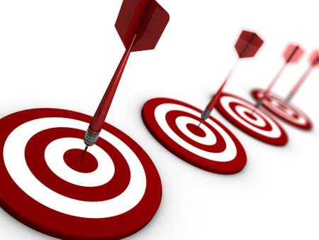 darts series Standard-Bild