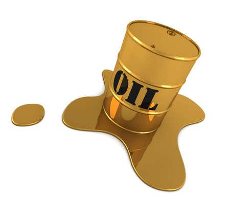 oil spill: Fuoriuscita di petrolio