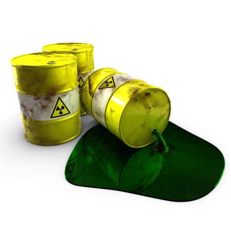 Residuos nucleares  Foto de archivo - 7321745