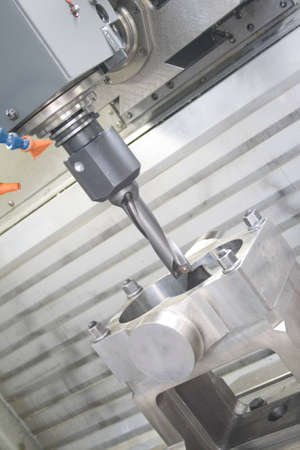 ncc: Machining centre Stock Photo