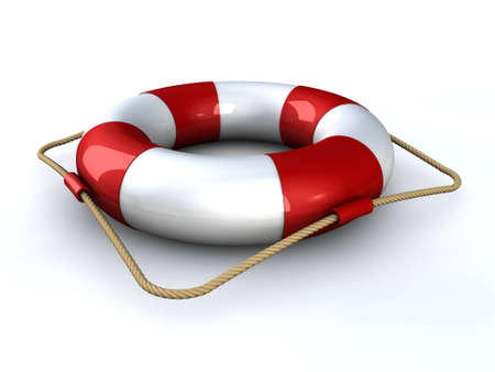 Lifebuoy Standard-Bild