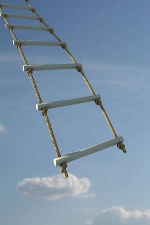 Climbing up Standard-Bild