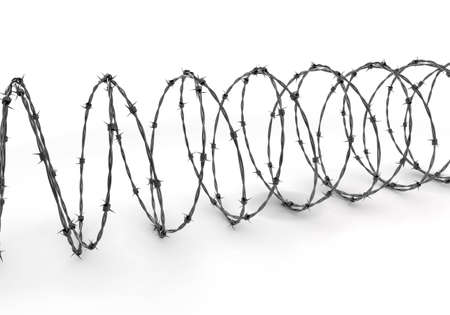 Barbed Wire Stock Photo - 7321639