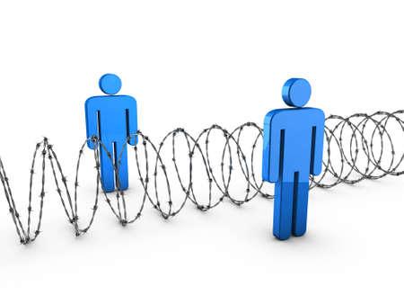 Fence Standard-Bild