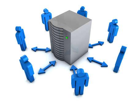 Groupware concept