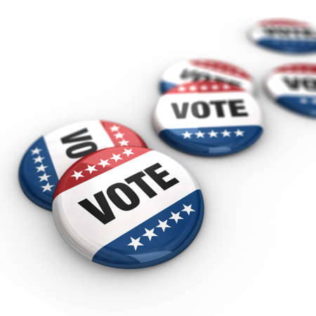 presidential election: Vote Badges