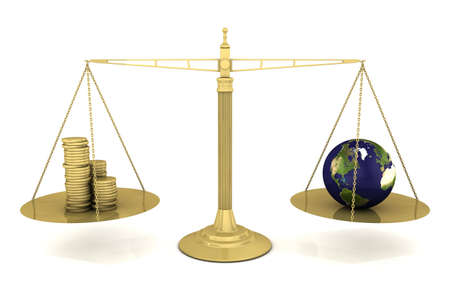 Global Priorities Stock Photo