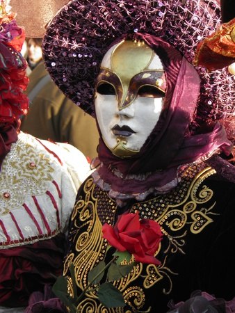 A colorful carnival mask in Venice Stock Photo - 11962986