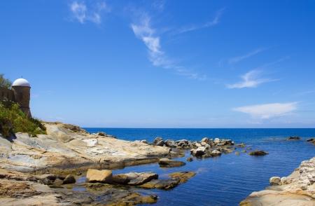 unexplored: giglio island in Italy Stock Photo