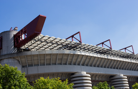 st  joseph: San Siro in Milan Editorial