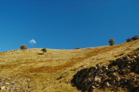sanremo: Hils Landscape at Molini di Triora, near Sanremo, Italy