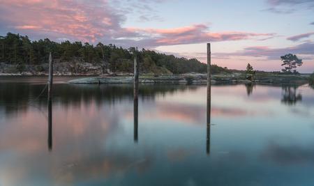 sweden: Sunset in Sweden