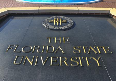 florida state: Entrance to Florida State University.