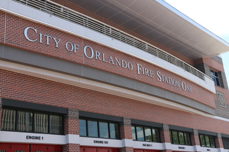 fire station: City of Orlando Fire Station One Editorial