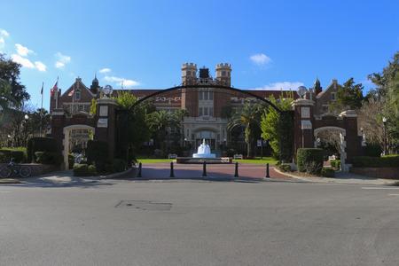 tallahassee: Florida State University Entrance
