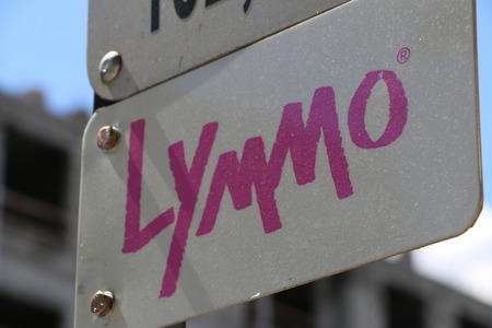 Lymmo Line Sign