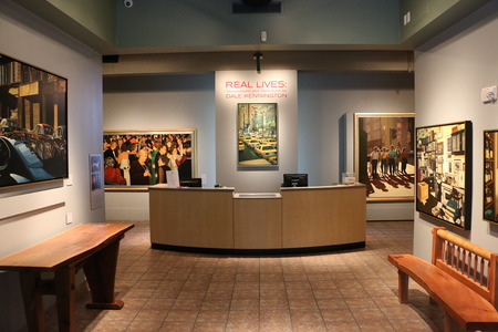 The entrance to the Mennello Museum of American Art Editorial