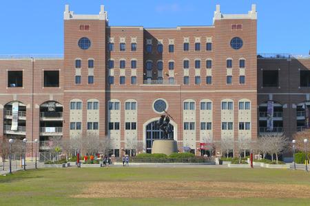 florida state: Williams Plaza at Langford Green on Florida State University Campus.