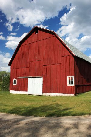 Red, Country Barn