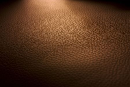Brown leather pattern.
