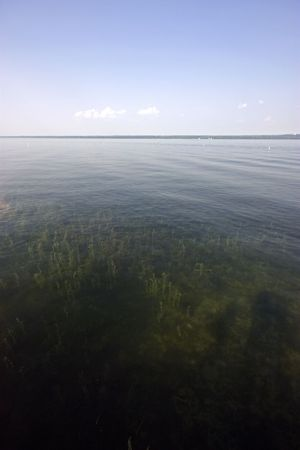 seneca: Beautiful Seneca Lake in upstate New York Stock Photo