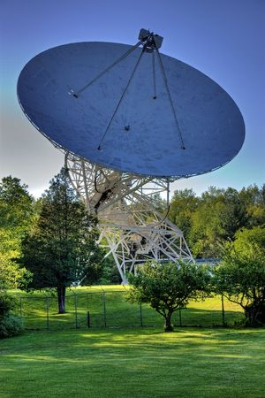 A radio astronomy obervatory in Michigan