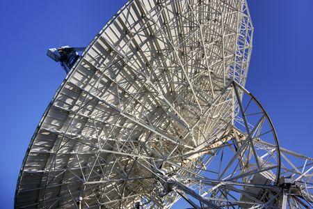 Een radio astronomie obervatory in Michigan