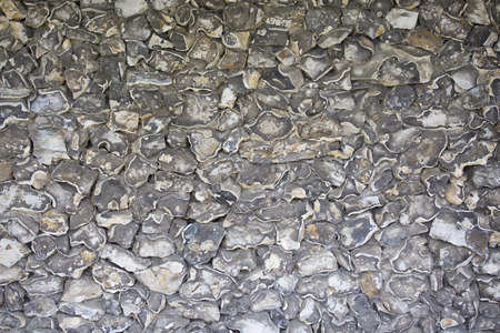flint: Wall made from flint