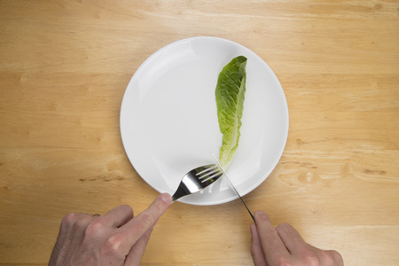 loose weight: Man trying to loose weight