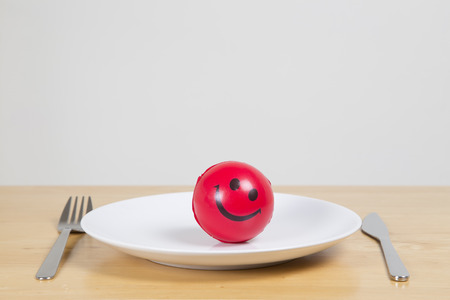 stress ball: Stress ball, healthy eating concept