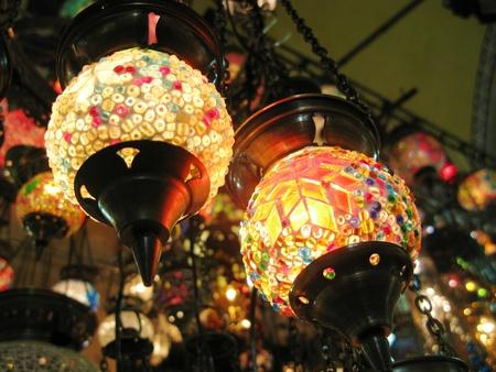 lamp shade: Lights at the Grand Bazaar, Istanbul