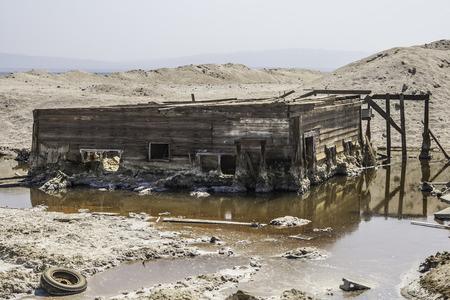 Torn House in Salton Sea Beach, California - Summer 2007.