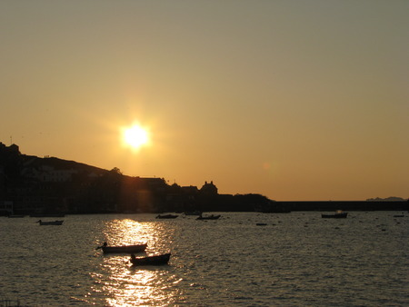 scilly: Scilly Sunset