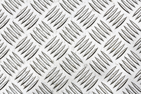 chequerplate: Diamond plate, also known as checker plate, tread plate, cross hatch kick plate and Durbar floor plate.