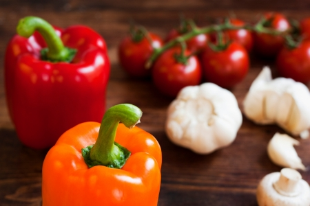 Sweet Pepper Stock Photo