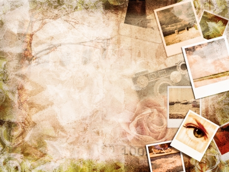 vintage photography background Stock Photo