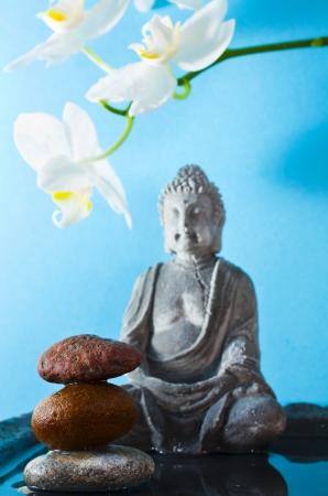 stone buddha: relaxation