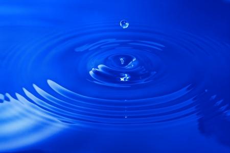 Water Drop Standard-Bild