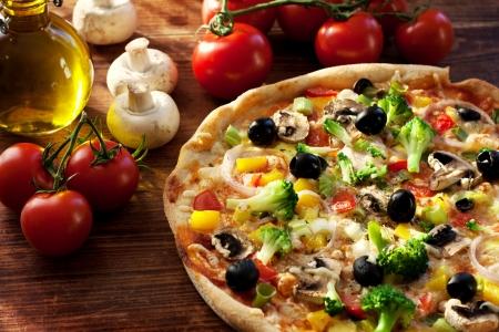 pizzas: Veggie Pizza