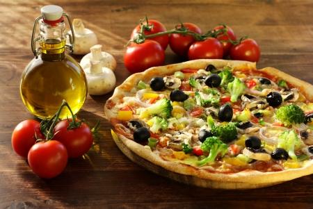 Vegetarian pizza Stock Photo - 20923036