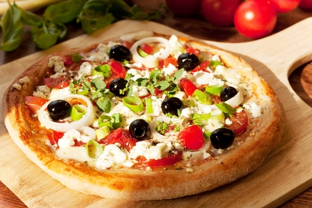 Greek Style Pizza Fresh Homemade Pizza