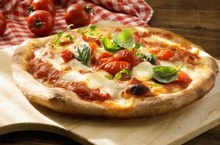 Fresh Homemade Italian Pizza Margherita