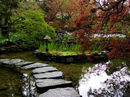 Butchart Gardens, Victoria, in Canada