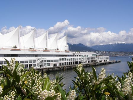 Vancouver Harbour, Canada Stock Photo