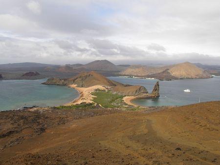 Sullivan Bay and Pinnacle Rock, Galapagos Islands